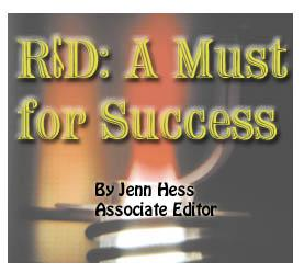 R&D: A Must for Success