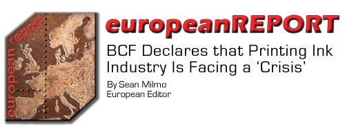 BCF Declares Ink Industry is Facing a Crisis
