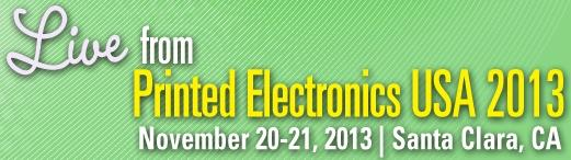 Printed Electronics USA 2013