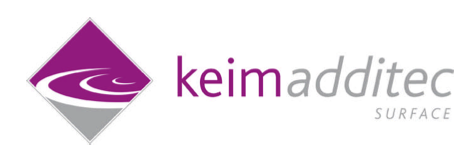 Change in Shareholdership/General Management at KEIM-ADDITEC Surface USA LLC