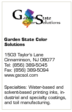 Garden State Color Solutions Brings Years of Expertise to the Ink and Coatings Market