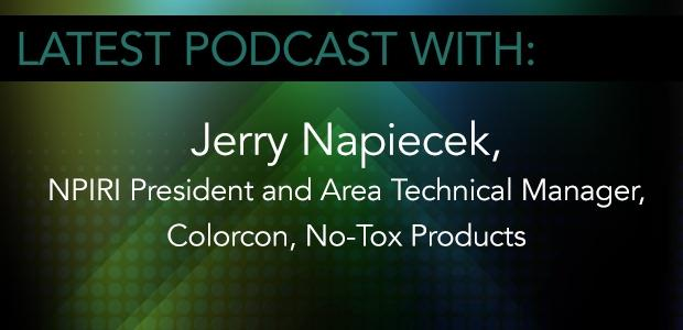 NPIRI President Jerry Napiecek of Colorcon No-Tox Products
